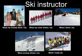 Skiing Memes - ha lucky to have a ski instructor man love my private lessons