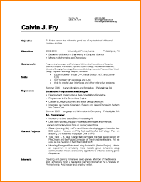 Art Resumes Computer Science Resume Art Resumes