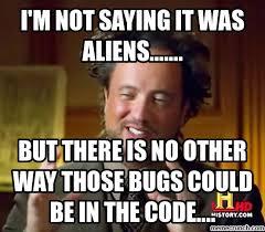 Code Meme - bugs