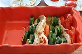 cuisiner les l馮umes sans mati鑽e grasse recette de tian de légumes méridionnal