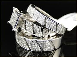 wedding band sets for him and stylish and cheap wedding rings sets for him and couples