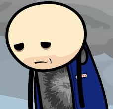 happiness character sad larry character cyanide and happiness wiki fandom