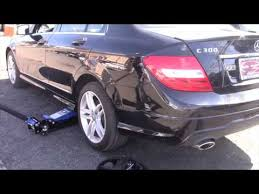 mercedes c class change how to change into your spare tire