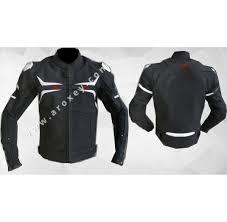 white motorbike jacket leather jacket