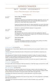 Sample Dot Net Resume For Experienced Dot Net Developer Resume Sample Eliolera Com
