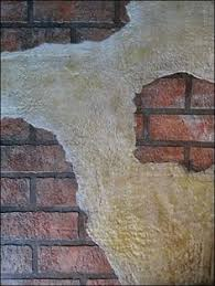 Fake Exposed Brick Wall How To Create A Faux Exposed Brick Wall Using Veneer Bricks