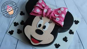 Minnie Mouse Torte I Motivtorte I Minnie Mouse Cake I Tutorial I