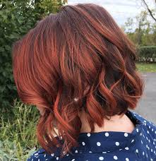 red brown long angled bobs 60 auburn hair colors to emphasize your individuality