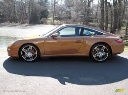 orange porsche targa 2007 nordic gold metallic porsche 911 targa 4s 25247475 photo 3