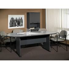 Large Conference Table Bush Business Furniture Series C 82w X 35d Racetrack