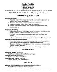 Sample Resume For Warehouse Worker by Warehouse Resumes Resume Templates