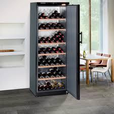 stylish liebherr freestanding wine cellar andi co