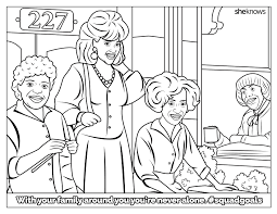 girls coloring book 224 coloring page