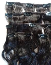 Human Hair Extensions With Clips by Brazilian Virgin Remy Human Hair Clip In Extensions
