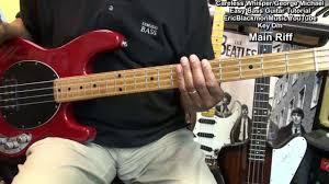 George Michael Youtube by Careless Whisper Bass Guitar Lesson George Michael Funkguitarguru