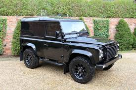 land rover defender black land rover defender 90 xs spec black bison autodesign