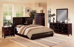 Bedroom Furniture Orange County Ca by Mark Furniture Flynn Claret Upholstered Bedroom Set In Rich Brown