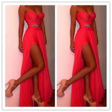 black friday prom dresses shop black friday sale red prom dresses with slit online