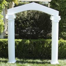 wedding arches with columns columns with arch amico mayko