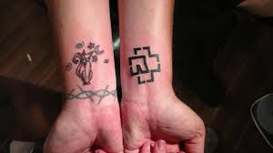 tattoo my logo got my logo tattoo for 13 today whoohoo rammstein