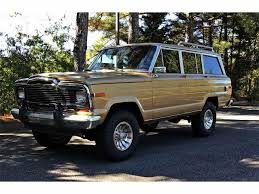 old jeep grand cherokee classic jeep wagoneer for sale on classiccars com