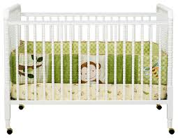 Modern Convertible Crib Davinci Lind 3 In 1 Convertible Crib In White M7391w