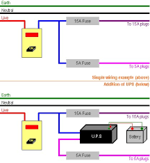 a way it works ups wiring simplified