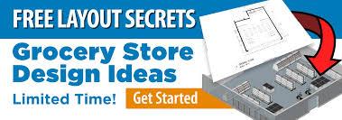 Grocery Store Floor Plan Retail Interior Design Store Fixtures Signs Dgs Retail Supplies