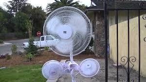 pelonis fan with remote re stand fan an re clip fan and a pelonis clip fan youtube