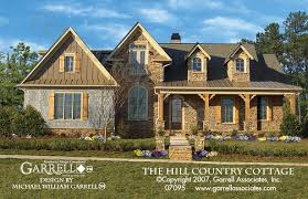 country style house plans hill country cottage house plan house plans by garrell