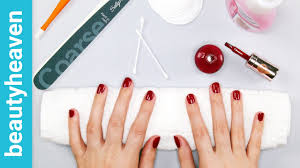 how to do a salon manicure at home youtube