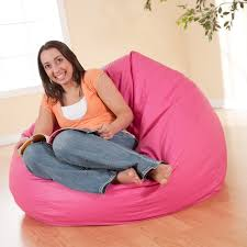 large vinyl lounger bean bag chair hayneedle