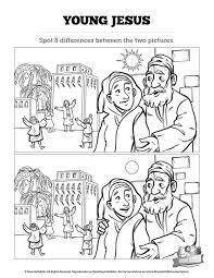 jesus as a child kids spot the difference can your kids spot all