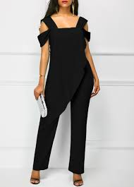 black jumpsuit sleeve trendy jumpsuits rompers for on sale modlily com