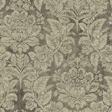 sis40547 grey bohemian damask wallpaper oasis by chesapeake