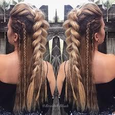 25 beautiful braided mohawk hairstyles ideas on pinterest