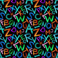 crayon letters seamless u2014 stock photo zoooom 4554439