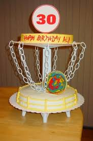 images about disc golf cakes on pinterest miniature birthday