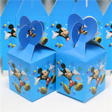 online get cheap candy boxes party mickey mouse aliexpress com