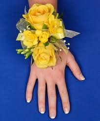 Prom Corsage Glowing Yellow Prom Corsage In Unity Me Unity Flower Shop
