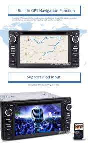 eincar online new car dvd player special for toyota 6 2 inch