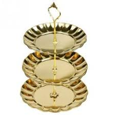 philippines ajusen fruit plate stand stainless steel pastry