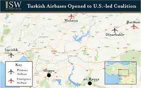 Map Of Turkey And Syria by Turkey Expands Campaign Against Isis And The Pkk Institute For