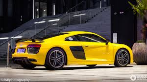 Audi R8 Yellow - audi r8 v10 plus 2015 12 april 2017 autogespot