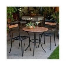 Iron Bistro Table Set Mosaic Bistro Table Set Open Travel