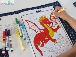 benefits colouring activities learning 4 kids