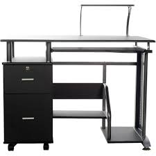 amazon com comfort products rothmin computer desk with storage