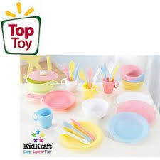 Kidkraft Pastel Toaster Set Kidkraft Pastel Kitchen Accessories 4 Pack Play Set This Is The 4