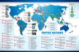 can you me a map of the united states united nations map the one governmentwhat an ignorant and un