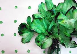 coffee filter shamrock kids craft easy st patrick u0027s day craft